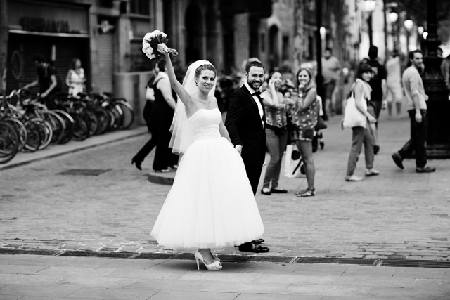 shooting wedding barcelona