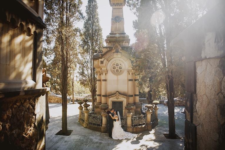elopement barcelona cemetery