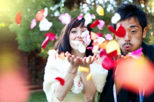 lovely japanese wedding