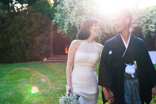 lovely japanese wedding