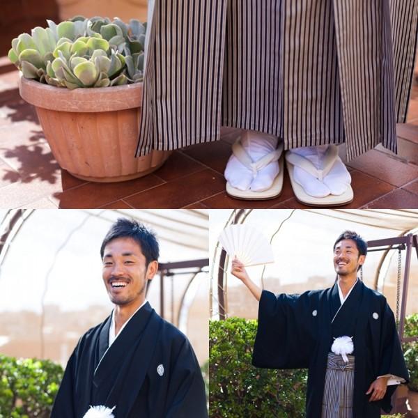 japanese groom kimono
