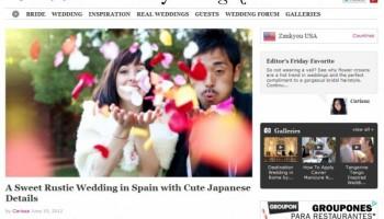 Marry me in Spain in Zankyou Magazine