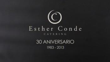 30 años del catering Esther Conde