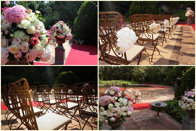 Chairs russian wedding