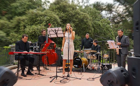 Jazz band russian wedding