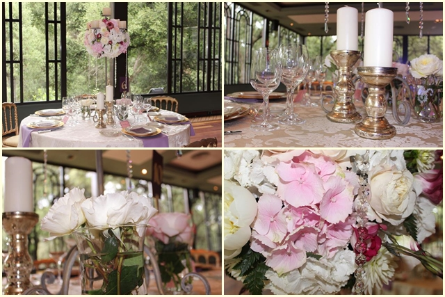 Centerpiece russina wedding