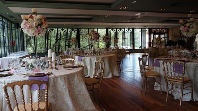 Table decoration russian wedding