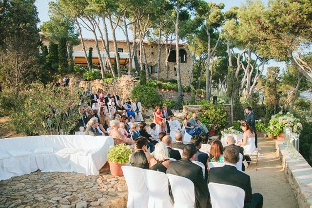 sea view wedding