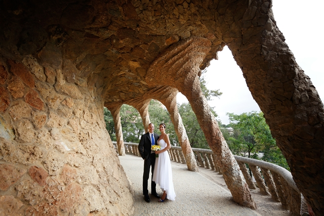 Gaudi wedding barcelona (10)