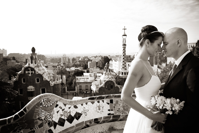 Gaudi wedding barcelona (5)