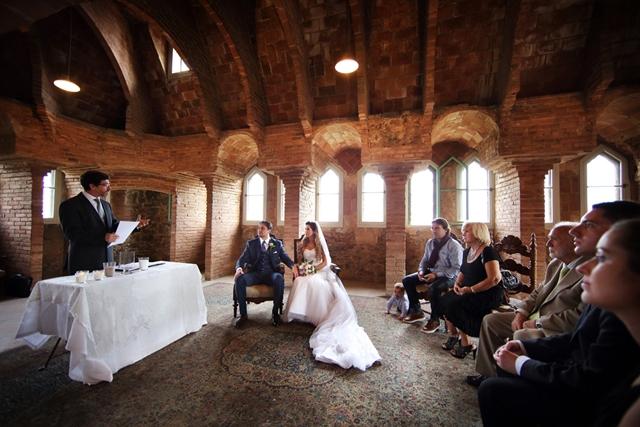 australian elopement in barcelona