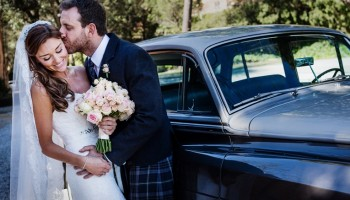Beautiful and elegant Scottish wedding