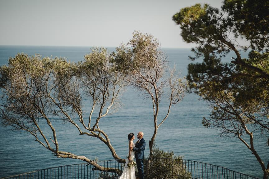 barcelona wedding seaview